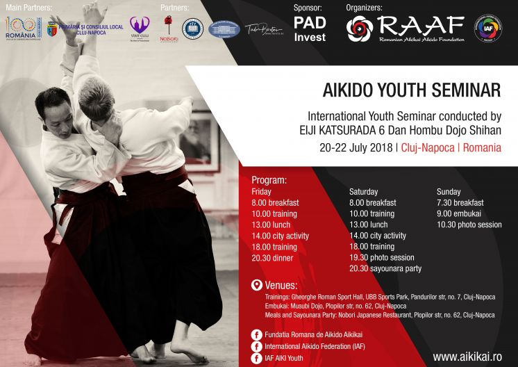 Youth Aikido Seminar conducted by Eiji Katsurada 6 Dan, Hombu Dojo Shihan