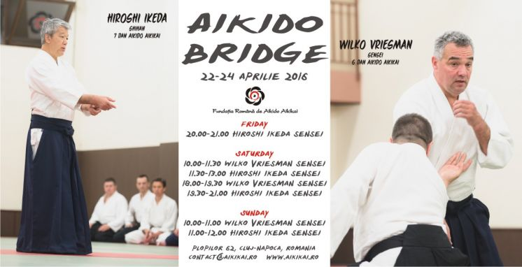 Seminarul International Aikido Bridge, Cluj 2016