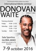 Seminar international Arad shihan Donovan Waite, 7 dan