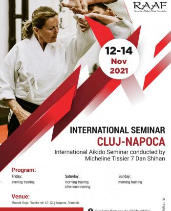 Seminar international cu shihan Micheline Tissier, 12-14 noiembrie 2021