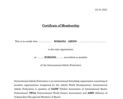 Certificat IAF